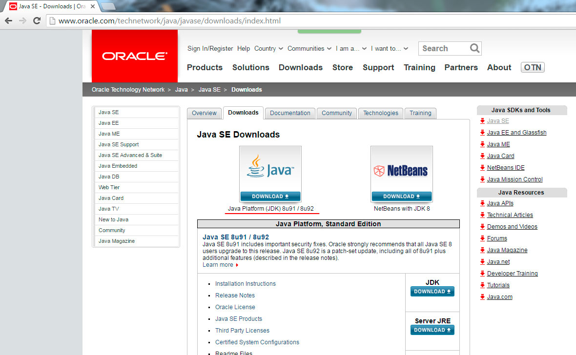 Oracle downloads, platforms