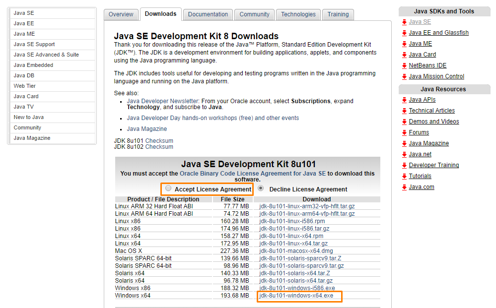 JDK_download